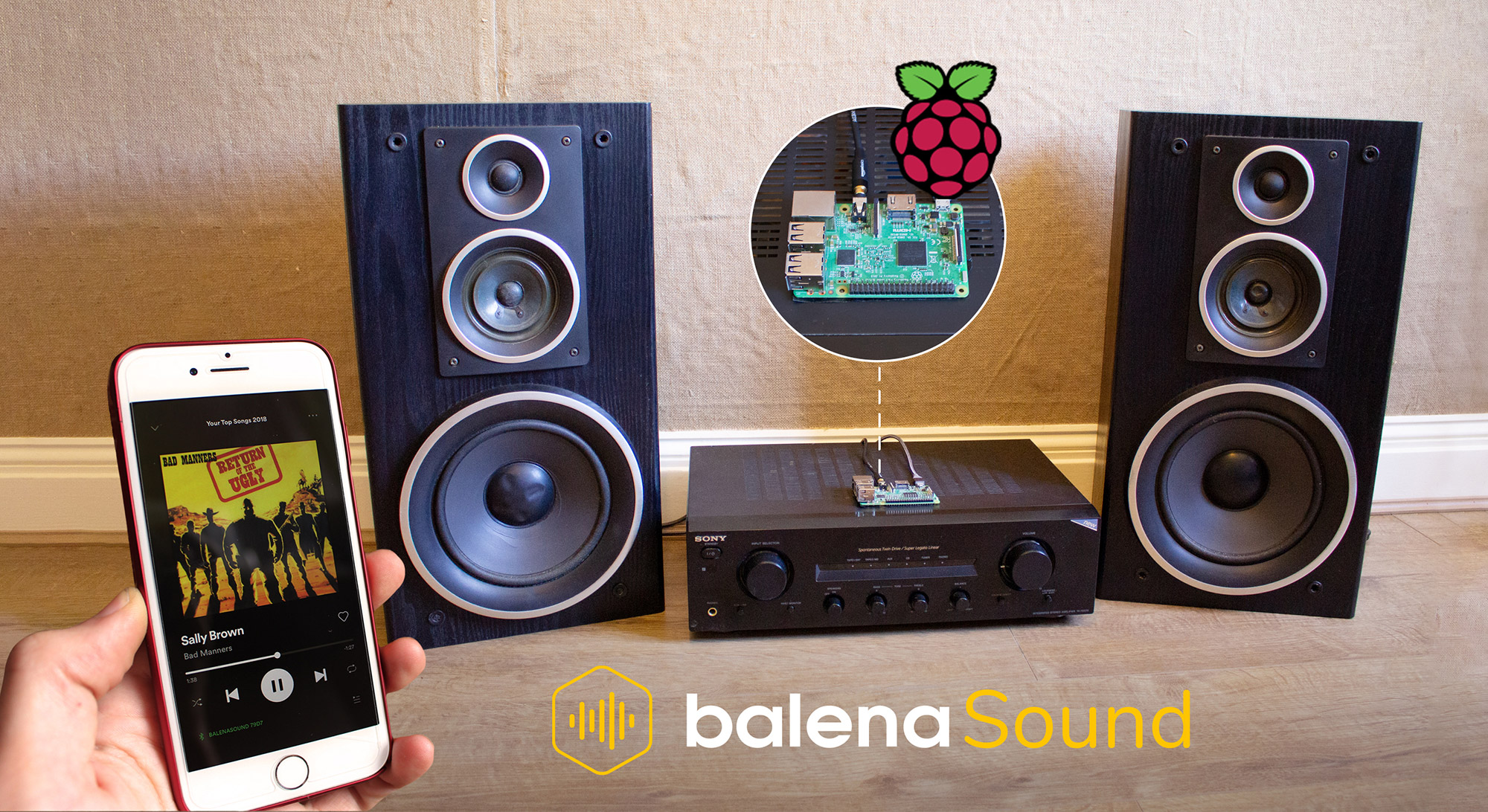 Turn your old speakers or Hi-Fi into Bluetooth, Airplay and Spotify receivers with a Raspberry Pi and this step-by-step guide