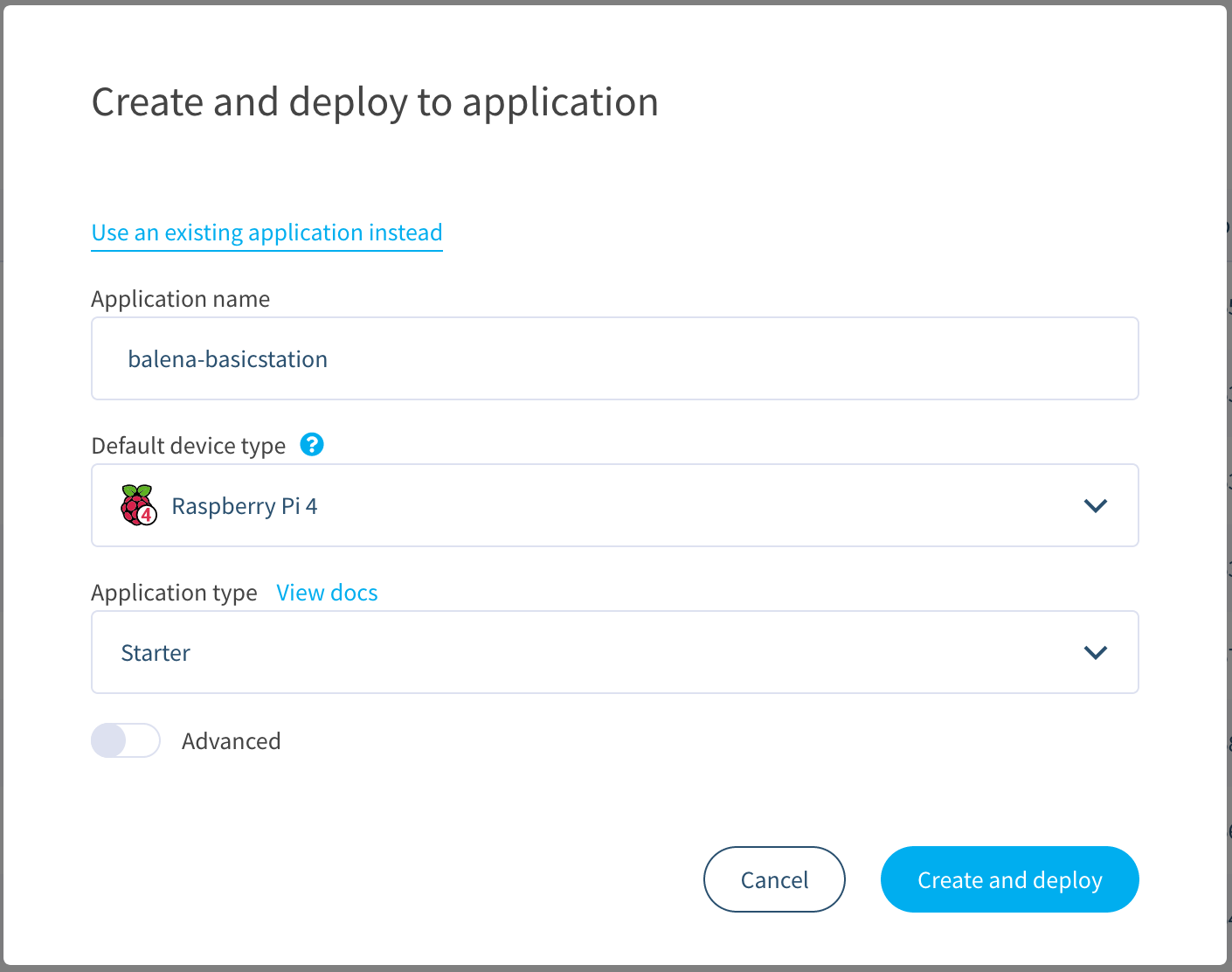 Create your balena application