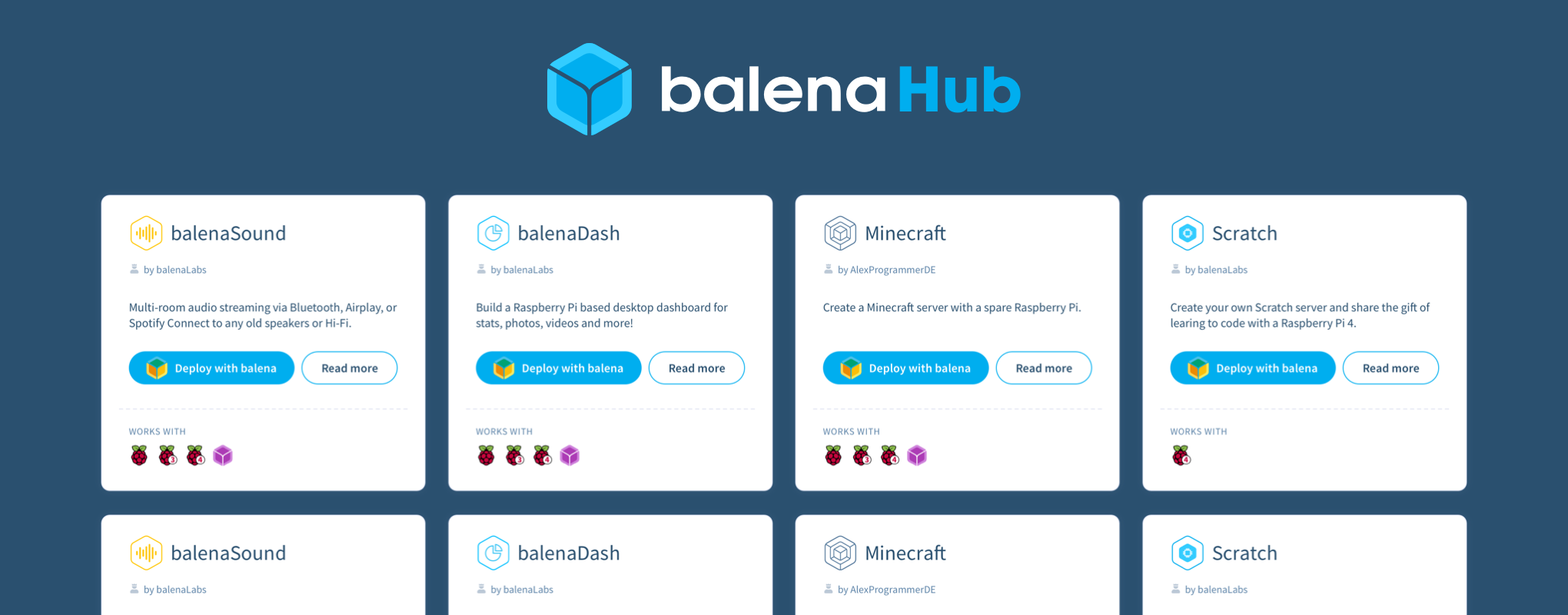 We're excited to announce balenaHub!