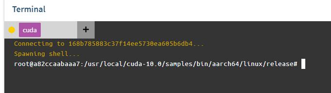 A closer look at the CUDA service